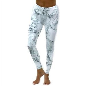 Marble leggings/yoga pants size S by Altar Ego
